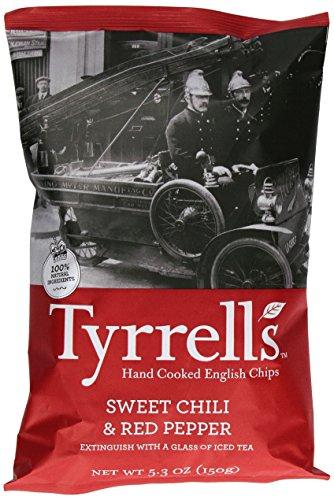 (Tyrrell's Crisps, Sweet Chili & Red Pepper, 5.3 Ounce)