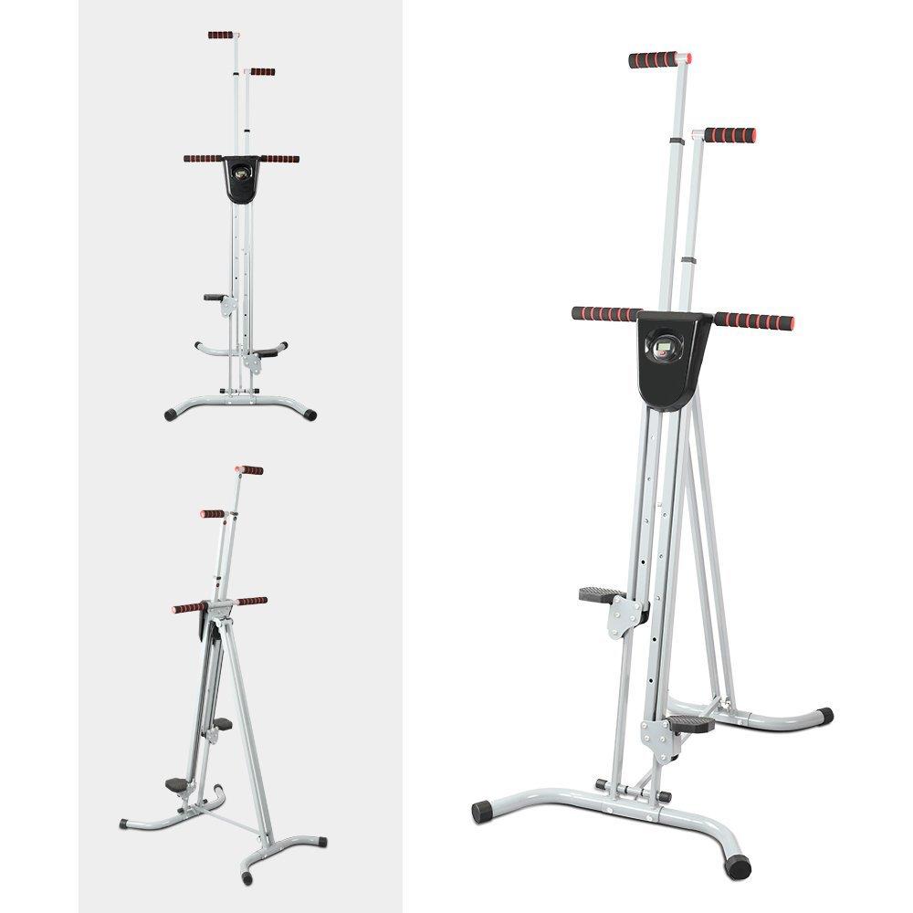 Apelila Total Body Workout Vertical Climber Machine, Folding Climbing Machine for Home Gym Step Climber by Apelila