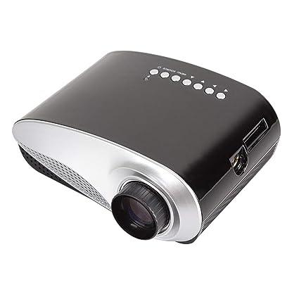 Mini proyector de vídeo LED, proyector móvil de DVD, proyector de ...