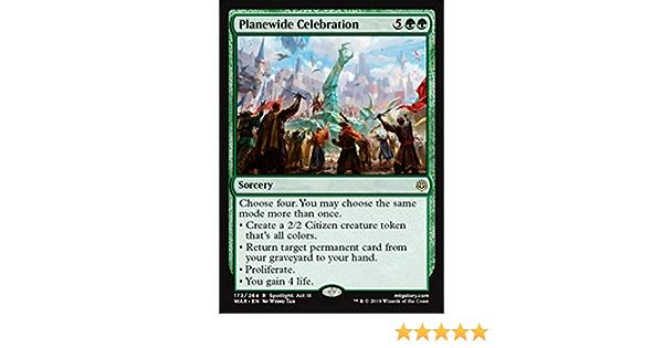 1x Planewide CelebrationWar of the SparkMTG Magic Cards