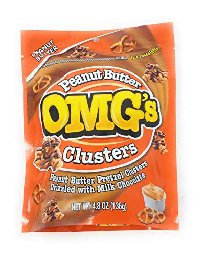 OMG's Clusters (Peanut Butter Clusters, 2 Packs of 4.8 oz)