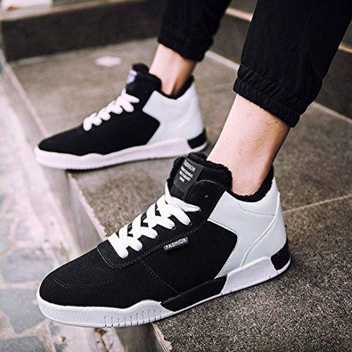 Coloré Outdoor Chaussures (TM) Chaussures de skateboard homme Blanc TwSqiaY