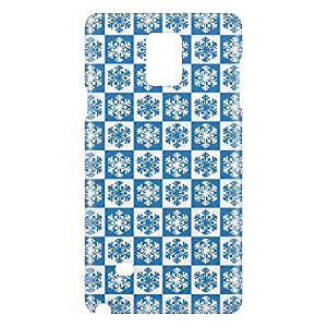 Loud Universe Samsung Galaxy Note 4 3D Wrap Around Print Cover - Blue/White