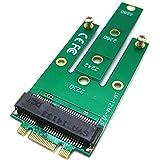 mSATA Mini PCI-E SATA 3.0 SSD to NGFF M.2 B + M Key Male Adapter Converter Card