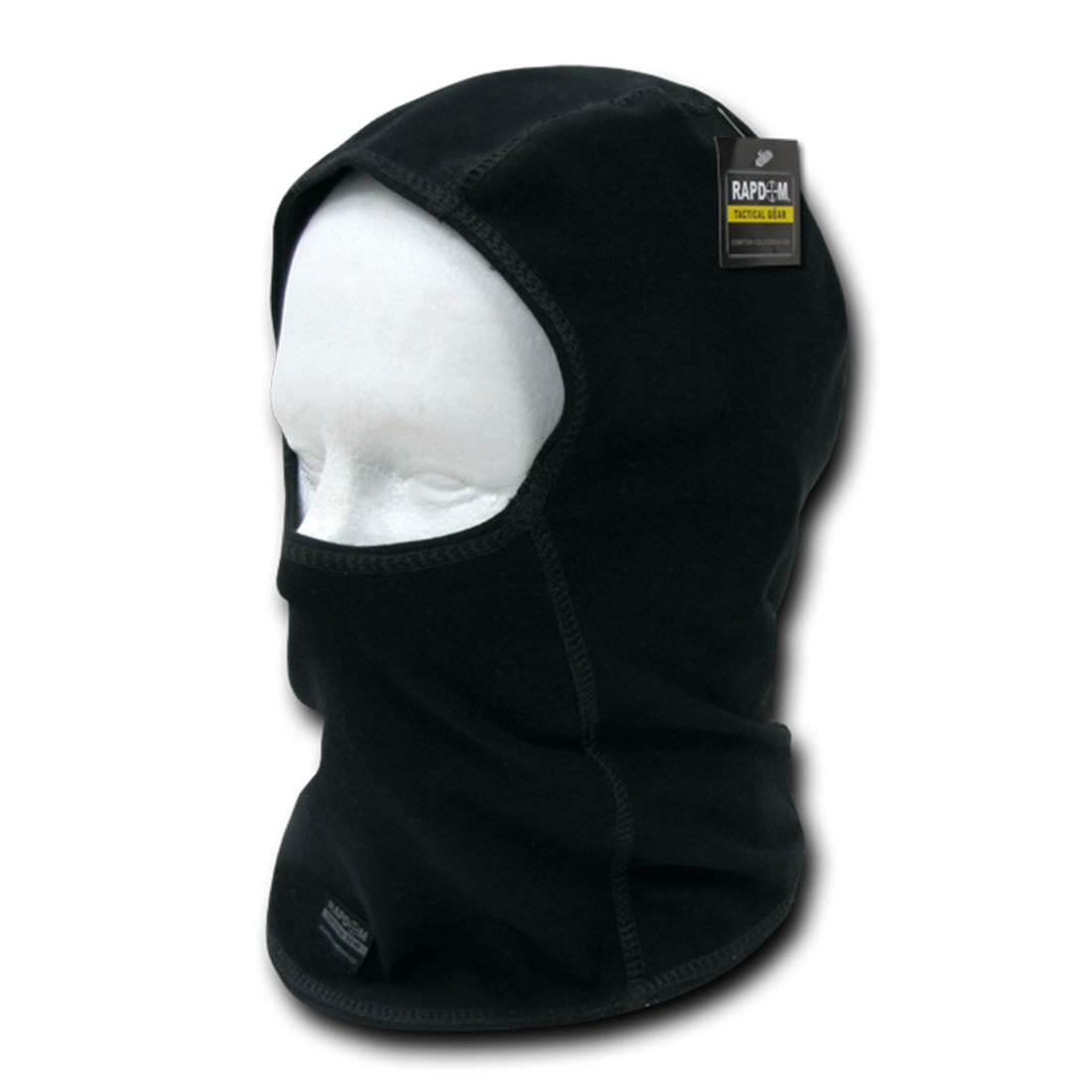 Rapid Dom Tactical Balaclava Mask Airsoft Paintball SWAT Black Full Face Mask T33