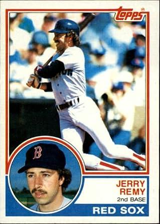 Amazoncom 1983 Topps Baseball Card 295 Jerry Remy Mint