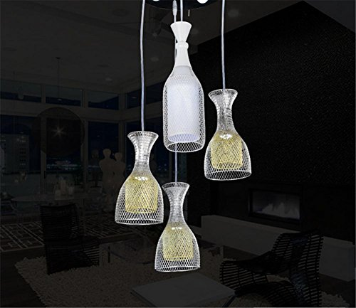 Double layer aluminum Cup led living room chandelier dining room bedroom lighting chandelier lighting