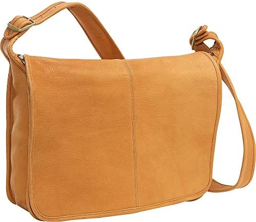 Le Donne Leather Classic Messenger, Colombian Leather