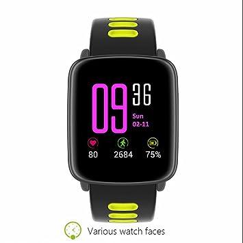 Smartwatch impermeable Smartwatch Schrittzähler Armband pulsuhren podómetro deportes acuáticos Pulso Relojes Frecuencia Cardíaca IP68 Schrittzähler ...