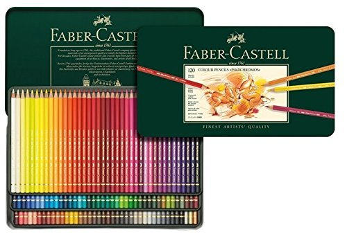 Faber-Castell Polychromos Artists' Color Pencils - Tin of 12