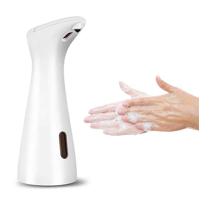 El dispensador automático de jabón por inducción Inciple funciona con infrarrojos, sin manos, dispensando el jabón con indicador LED para uso en la cocina ...