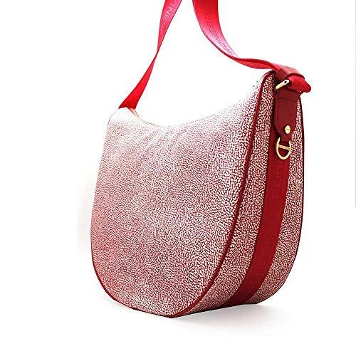 Cm Bag ravanello L Femme Luna Sac À Borbonese Bandoulière H X Rosa 35x38x15 w H5q01xw