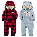 Carter's Baby Boys Hooded One Piece Jump