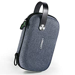 UGREEN Travel Case Gadget Bag Small, Portable Electronics Accessories Organiser Travel Carry Hard Case Cable Tidy…