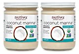Gourmet Food : Nutiva Organic Coconut Manna from Fresh, non-GMO, Sustainably Farmed Coconuts, 15-Ounce (Pack of 2)