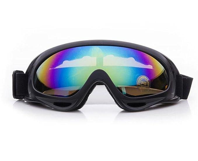 KUKI Occhiali da sole unisex, occhiali da sci Occhiali da sci Occhiali da protezione per esterni Occhiali da equitazione per casco , 2