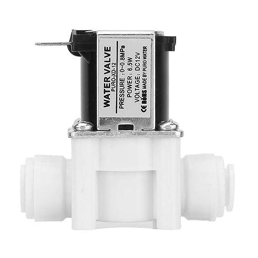 Electrovanne Electrique Vanne Electromagn/étique Normalement Ferm/ée Vanne dEau /à Connexion Rapide 12V DC
