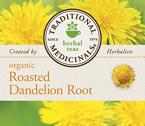 032917001658 - Traditional Medicinals Organic Roasted Dandelion Root Tea, 16 Tea Bags (Pack of 6) carousel main 5