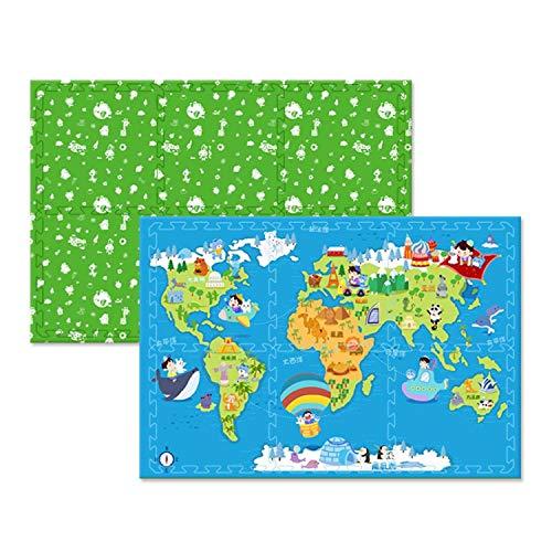 60602CM Baby Play Mats 6pcs Set Children Soft