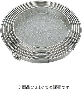 日本製 BK 18-8給食用手付き蒸しカゴ 細目 85cm 11メッシュ  [ざる・大ザル・あげザル・業務用]
