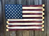 Martellas Wine Barrel American Flag, 37'' x 28''