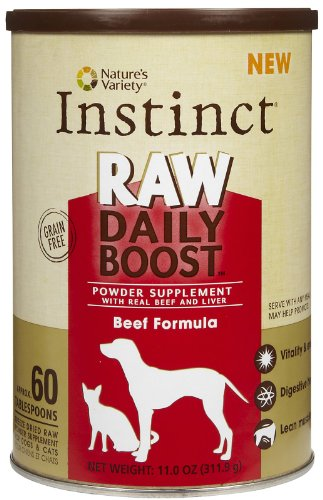 Nature's Variety Instinct Raw Daily Boost - Beef - 11 oz