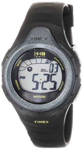 Timex Unisex T5K242 1440 Sports Digital Sport Black Resin Strap Watch