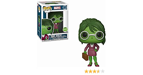 Vinyl Figure Funko new from uk Action- & Spielfiguren Marvel Lawyer She Hulk ECCC 2018 Exclusive Pop