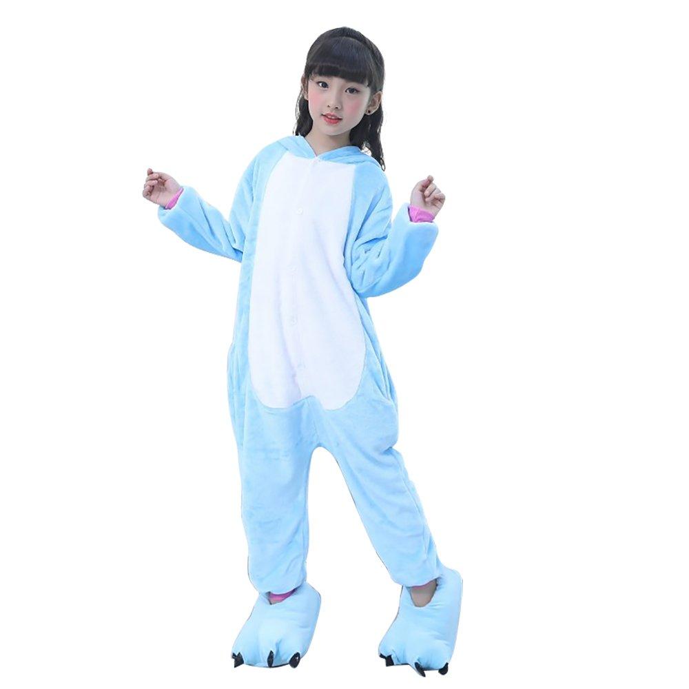 Pigiama Unicorno Kigurumi Adulto Animale Cosplay Animato Costume Camicie da Notte Carnevale Halloween Costume Tuta Animali Onesies