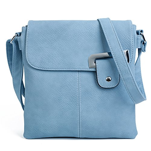 Blue Light À London Pour Trim L'épaule Porter Craze Sac Femme Silver 8qfdCw7