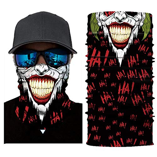 Appearancees AC514 Elastic Cycling Motorcycle Head Scarf Neck Warmer Skull Face Mask Shield