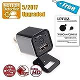 Spy Camera | 2017 S-Ext Edition | Motion Detection upgraded | LOTUSA 1080P ...