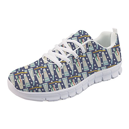 Walking up Coloranimal Casual Women Flats Essentials Fashion Lace Sneakers Running Brushing T0wqrTX