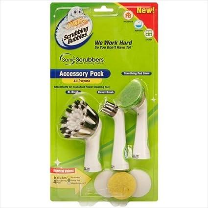 Scrubbing Bubbles 00001S Scrubbing Bubbles Sonic Scrubbers All-Purpose Accessory