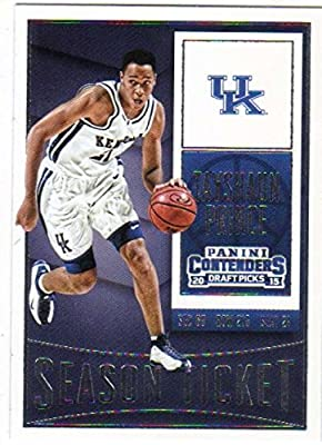 2015-16 Panini Contenders Draft Picks Season Ticket #88 Tayshaun Prince Kentucky Wildcats