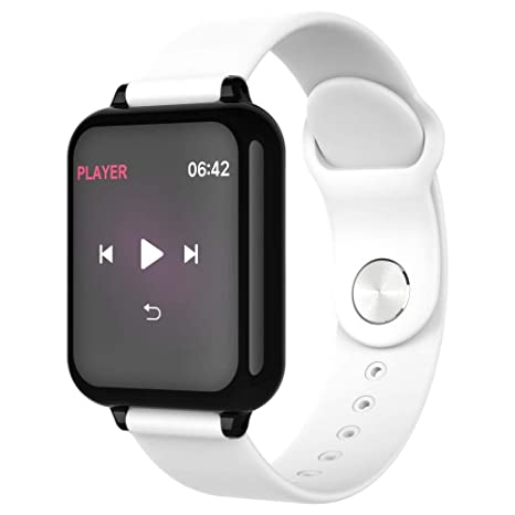 Cebbay Reloj Inteligente Monitor de frecuencia Cardiaca Y77 Rastreador de Fitness Deportivo Reloj de Hombre Reloj