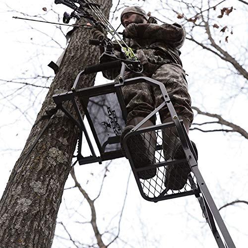 Rivers Edge RE660 Classic XT 1 Man Seat Lock On Deer Hunting Tree Ladder Stand