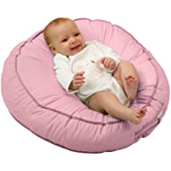 Leachco Podster Sling-Style Infant Lounger, Pink Pin...