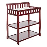 Cherry Wood Changing Table Dream On Me Ashton Changing Table, Cherry