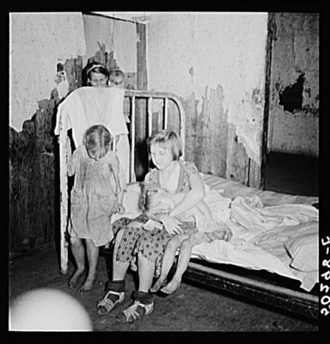 Photo: Children of coal miner. Pursglove,West Virginia