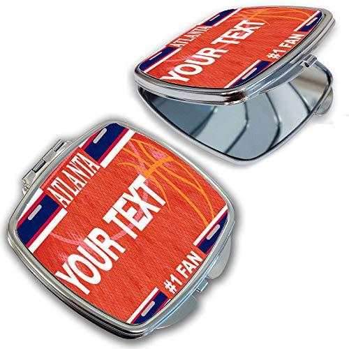 BRGiftShop Customize Your Own Basketball Team Atlanta Compact Pocket Cosmetic -