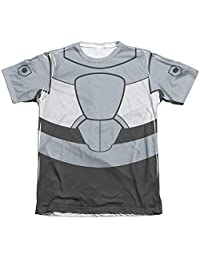Teen Titans Go Cyborg Uniform Mens Sublimation Shirt