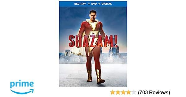 Amazon com: Shazam! (Blu-ray + DVD + Digital Combo Pack) (BD): Henry