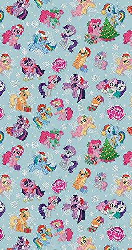 My Little Pony Christmas.My Little Pony Christmas Roll Wrap 4m Amazon Co Uk