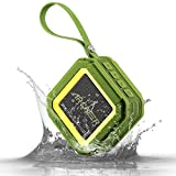 Toilet Won T Stop Running Archeer A106 Outdoor Portable Bluetooth Speakers with Microphone, Powerful 5W Driver with Enhanced Bass, 20 hour Playtime, for Shower/Sports Green