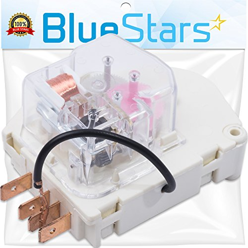 (W10822278 Refrigerator Defrost Timer by Blue Stars - Exact Fit for Whirlpool KitchenAid Kenmore Refrigerator - Replaces PS11723171 945514 482493)