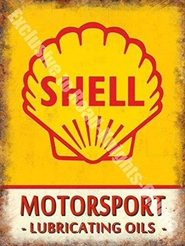 Vintage Garaje Motor Carreras Aceite Gasolina ANTIGUA PUBLICIDAD METAL / Muestra de la lata - 30