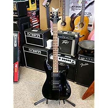 dean vendetta xmt electric guitar with tremolo metallic black musical instruments. Black Bedroom Furniture Sets. Home Design Ideas
