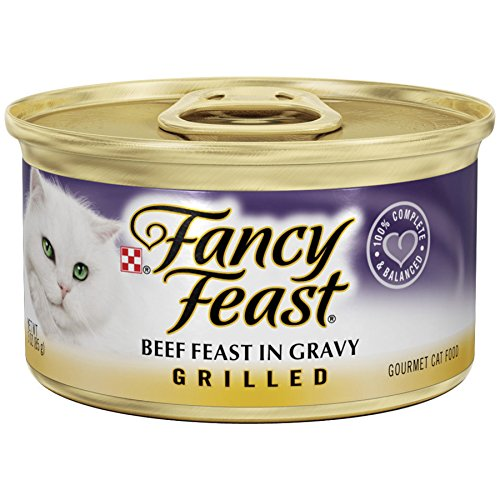 Purina Fancy Feast Grilled Gourmet Wet Cat Food – (24) 3 oz. Cans 51cW9YzkPiL