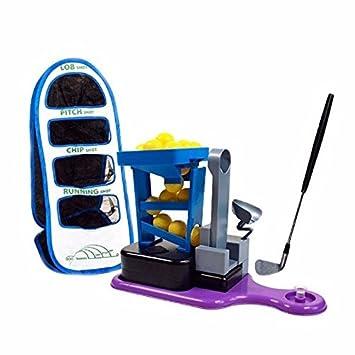 adahill (TM) Golf práctica jaula para niños formación Net cuatro ...